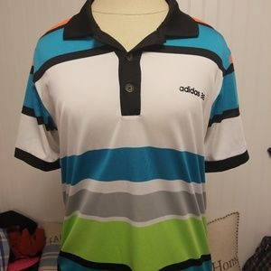 Mens adidas climacool golf polo size small NWOT